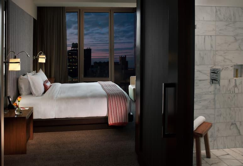 艾文提金普頓飯店, 紐約, 客房, 1 張特大雙人床, 城市景觀, 客房景觀