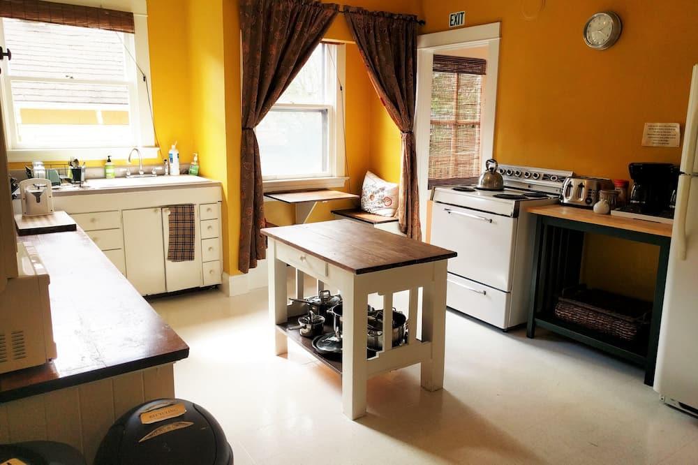 Pokoj typu Premium, dvojlůžko (200 cm), soukromá koupelna - Společná kuchyně