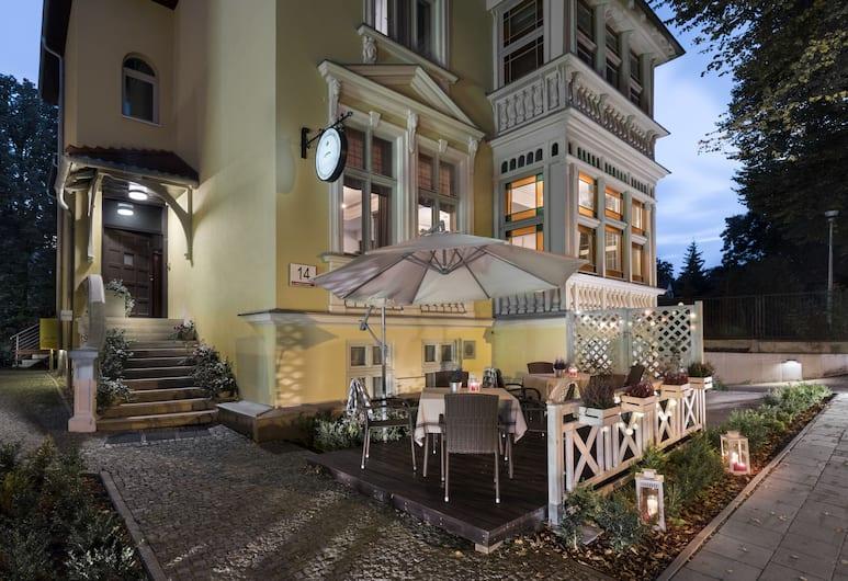 Hotel Impresja, Gdansk, Terrasse/veranda