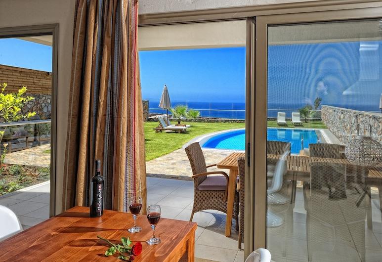 Royal Heights Resort Villas & Spa, Malia, Predsjednička vila, Terasa/trijem