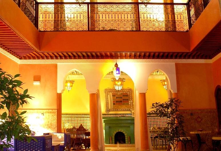 Riad Lakhdar, Marrakech, Dziedziniec