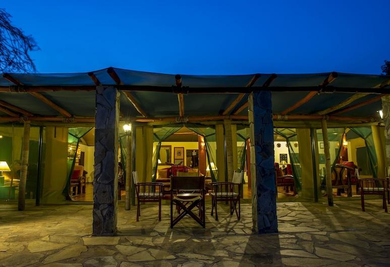 Mbuzi Mawe Serena Camp, Serengeti National Park, Hotel Front – Evening/Night