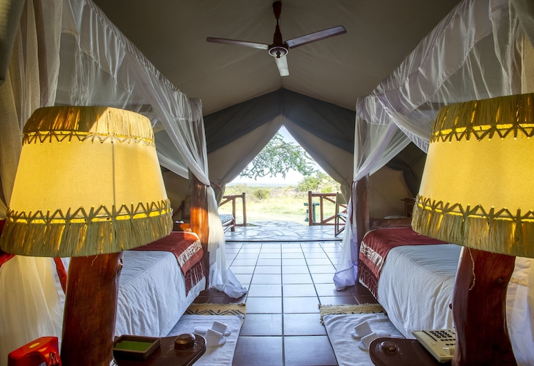 Mbuzi Mawe Serena Camp, อุทยานแห่งชาติ Serengeti, ห้องสแตนดาร์ด, ห้องพัก