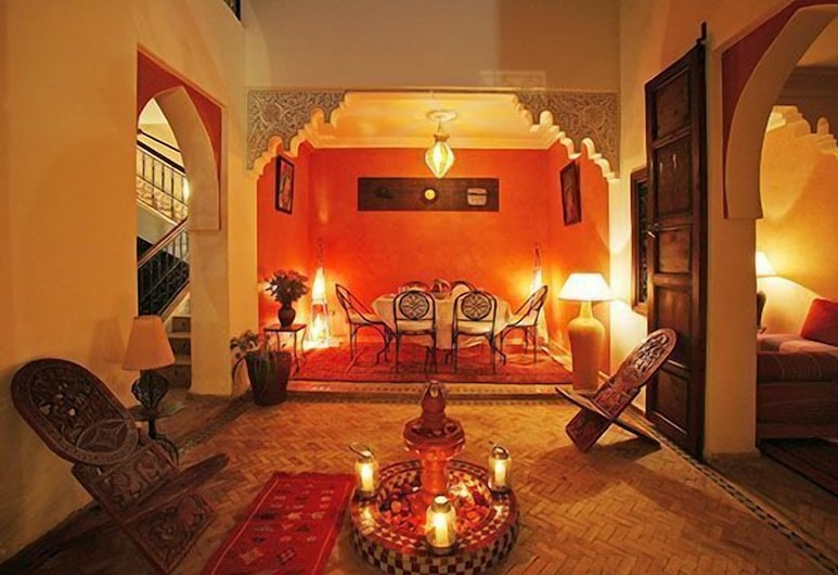 卡里姆庭院酒店, 马拉喀什, 大堂