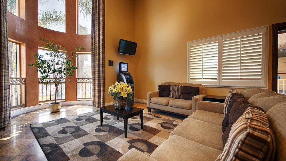 Best Western Burbank Airport Inn North Hollywood Lobby