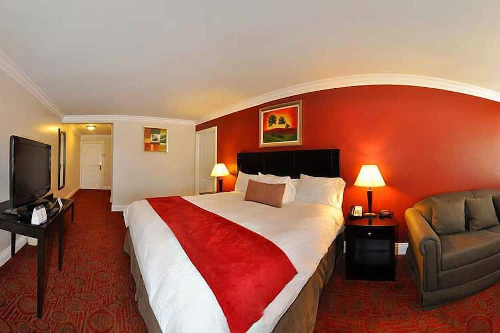 Suite, 1 King Bed, Accessible, View - Living Area