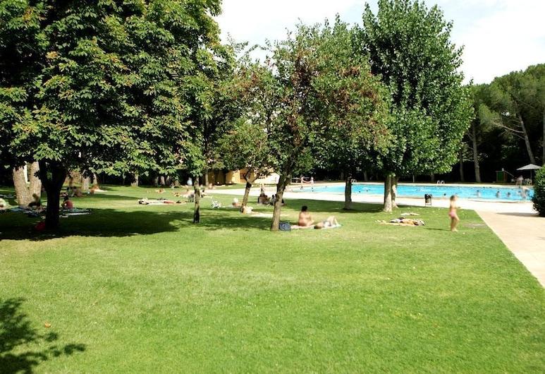 德尔森格拉尔旅馆, 蜇弗朗科利河畔埃斯普卢加, 室外游泳池