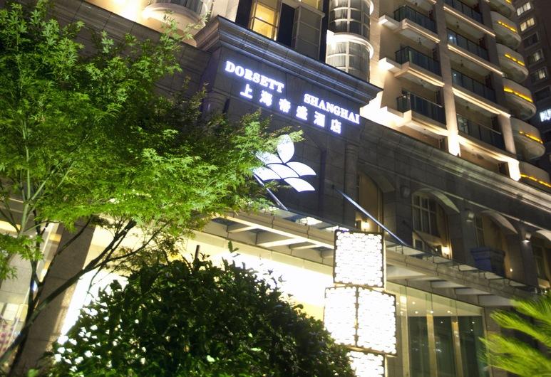Dorsett Shanghai, Shanghái, Fachada del hotel