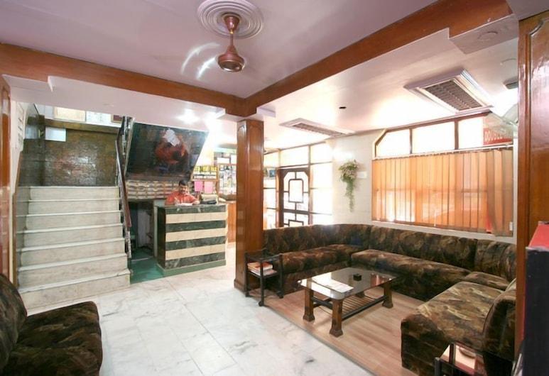 Hotel Woodland Dx, Yeni Delhi, Lobi Oturma Alanı
