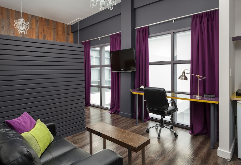 Hotel Metro, Londres, Suite estudio ejecutiva, 1 cama Queen size, vista al patio (Marvelous), Sala de estar