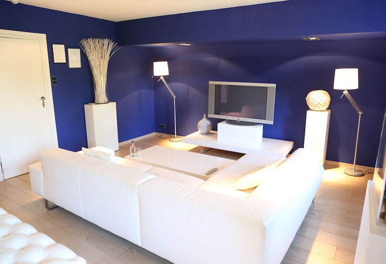 Charl's, Knokke-Heist, Junior-Suite, Wohnbereich