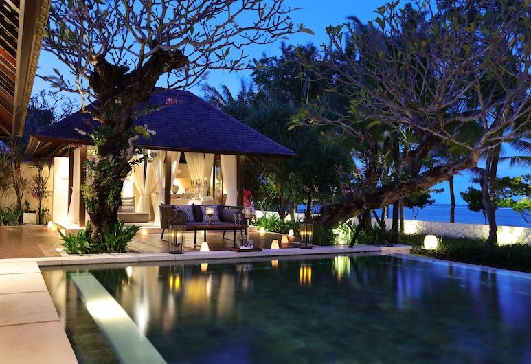 The Royal Santrian, Nusa Dua, וילת רויאל, בריכה פרטית, נוף לחוף/לאוקיינוס