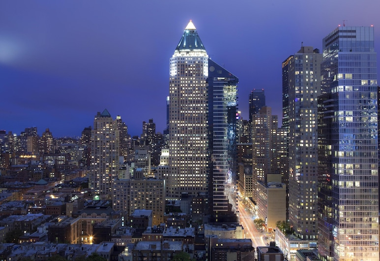 InterContinental - New York Times Square, New York, Deluxe-værelse - 2 dobbeltsenge, Udendørsareal