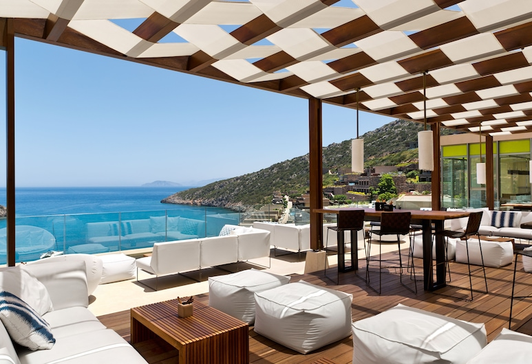 Daios Cove Luxury Resort & Villas, Ayios Nikolaos, Terraza o patio