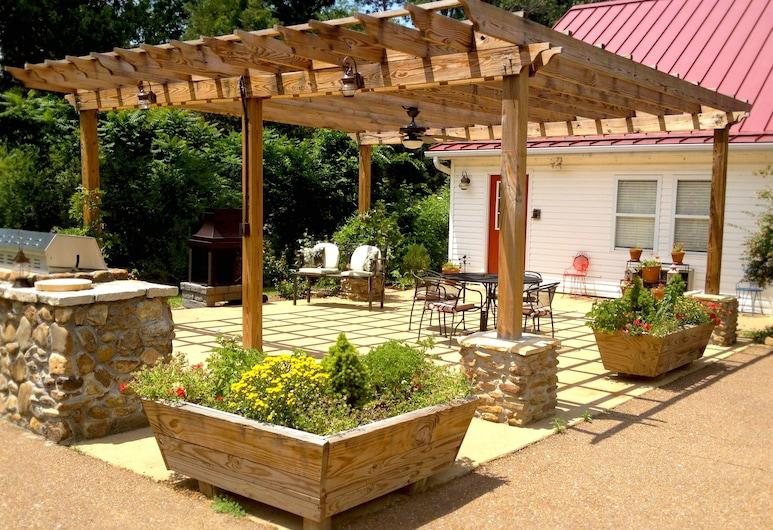 草地景观农场酒店, 赫尔南多, 露台