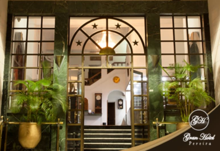 Gran Hotel Pereira, Pereira, Ingang van hotel