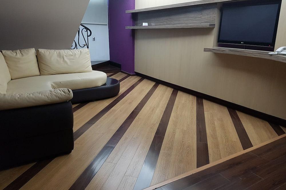 Business Oda, 1 Yatak Odası (Living Room & Private Office) - Oturma Alanı