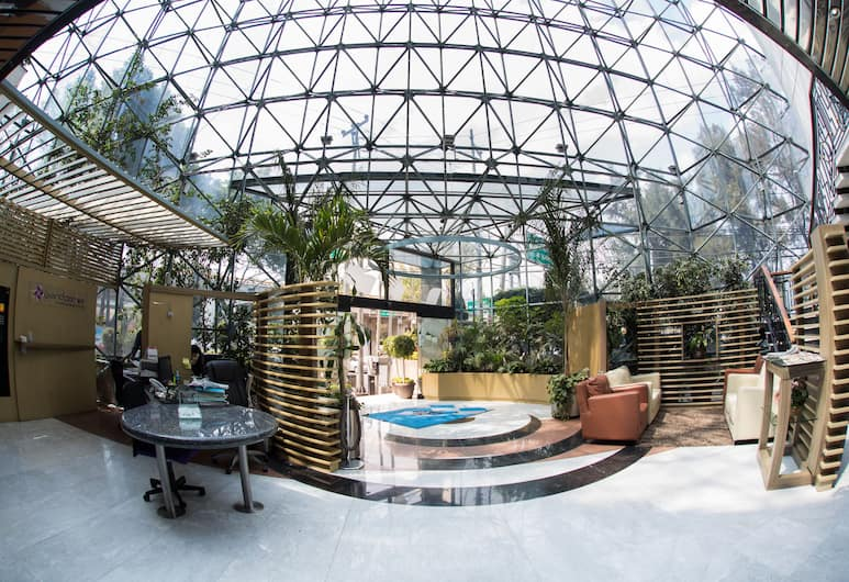 Hotel Grand Prix, Mexico City, Lobby Sitting Area