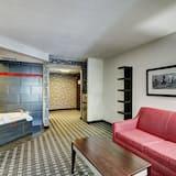 Suite Studio Supérieure, 1 très grand lit et 1 canapé-lit, non-fumeurs, baignoire à jets - Salle de séjour