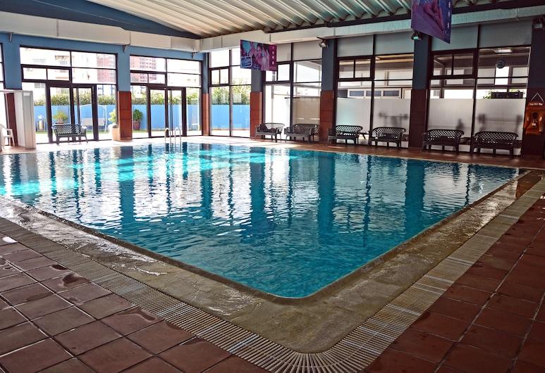 西泽酒店及水疗中心, 丹吉尔, 豪华单人房, 室内游泳池