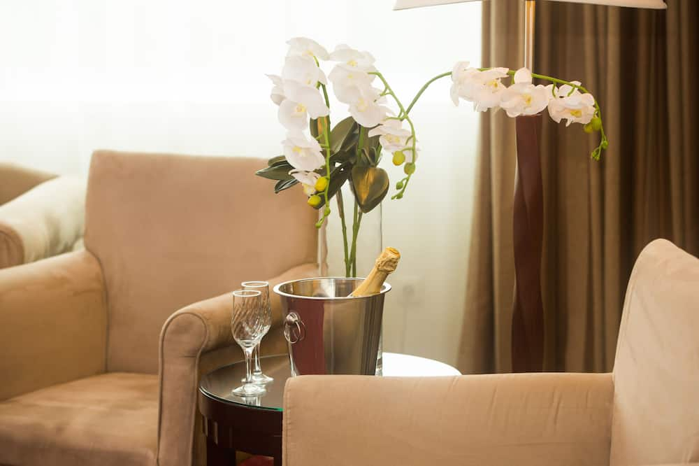 غرفة فردية - منطقة المعيشة
