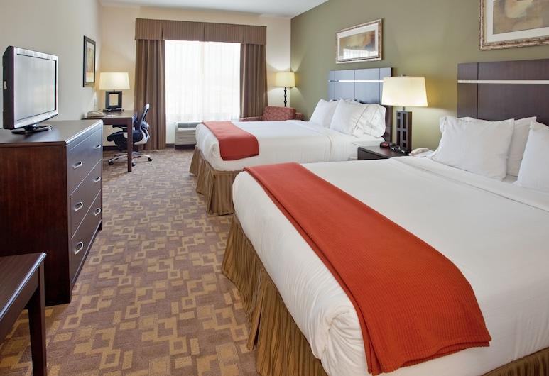 Holiday Inn Express Hotel & Suites TOPEKA NORTH, Topeka, Habitación, 1 cama King size, con acceso para silla de ruedas, bañera (Mobility), Habitación