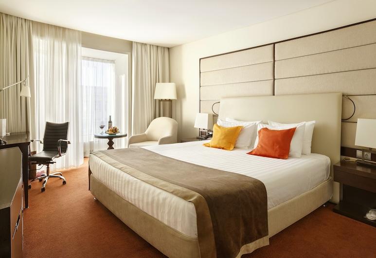 莫斯科 - 特列季亚科夫皇冠假日酒店, 莫斯科, 豪华客房, 1 张特大床, 客房