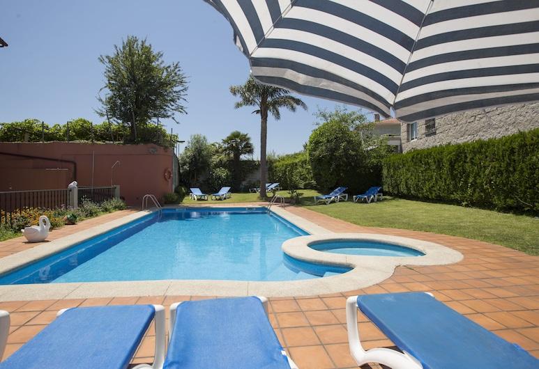 孔巴洛酒店, Poio, 游泳池
