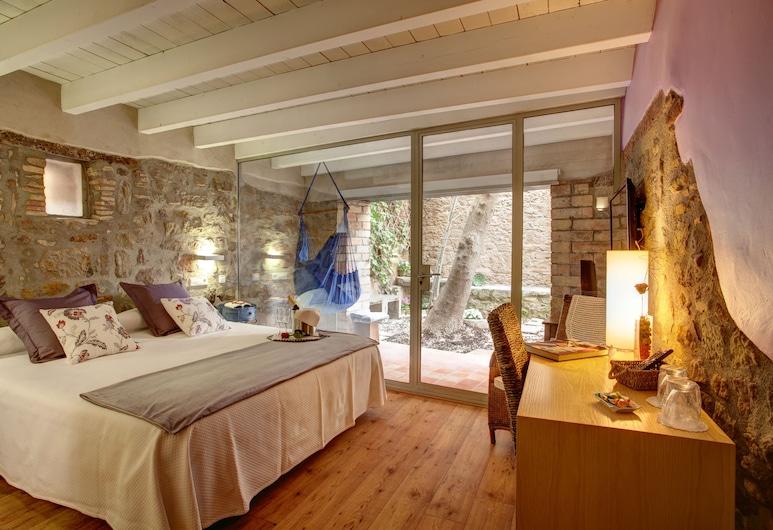 弗雷克塞拉酒店, Solsona, 双人房, 花园景观, 客房
