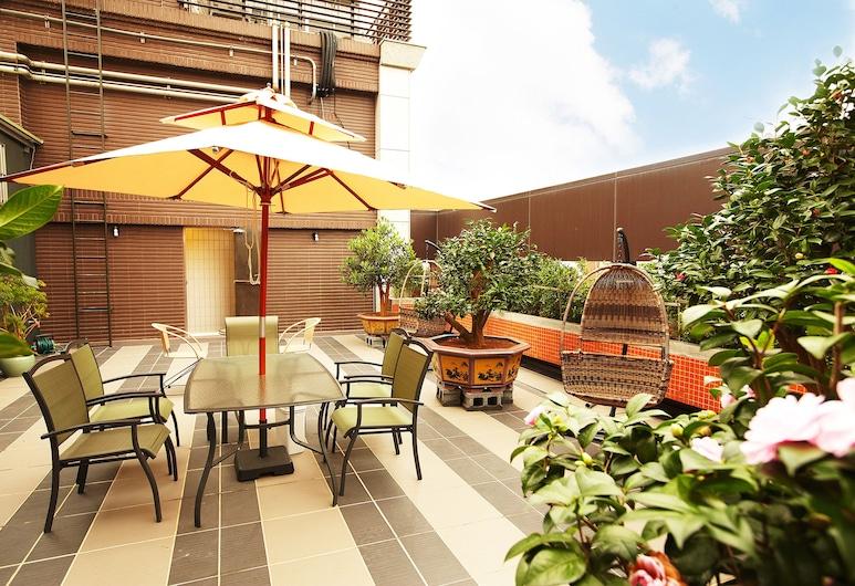 台北昰美精品飯店, 台北市, 花園
