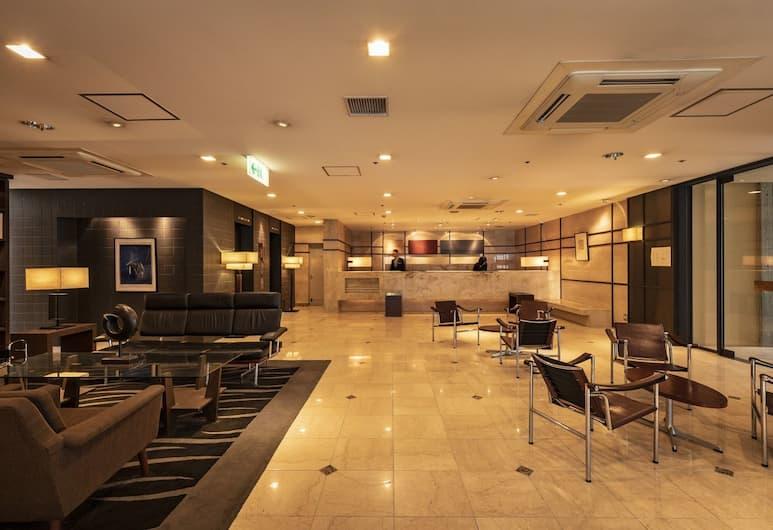 플라자 호텔 톈진, 후쿠오카, 리셉션