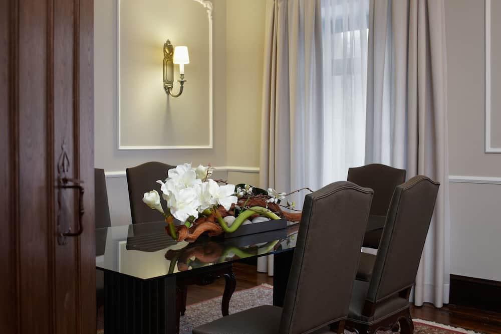Σουίτα, Μπαλκόνι - Καθιστικό