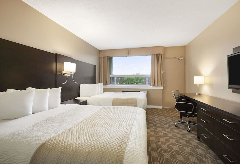 Days Inn & Suites by Wyndham North Bay, North Bay, Room, 2 Queen Beds, Non Smoking, Guest Room