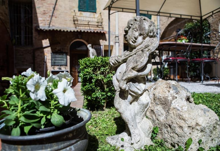 Piazza Paradiso Accomodation, Siena, Monolocale, 1 camera da letto, patio, vista giardino, Terrazza/Patio