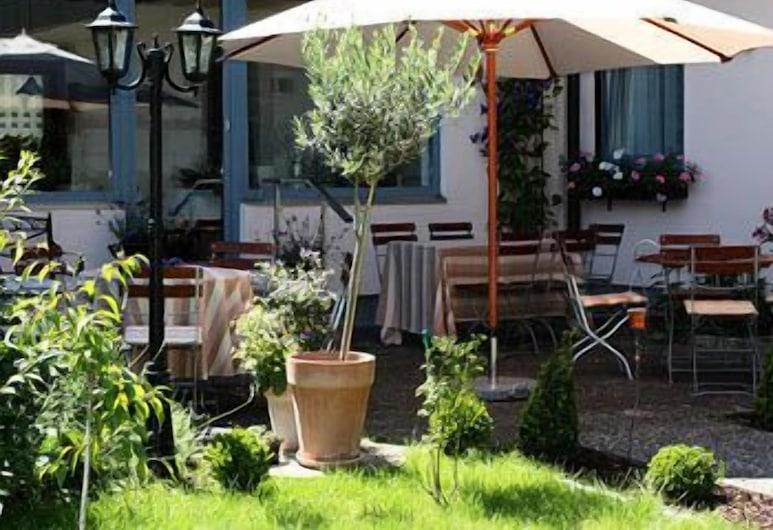 Alpina Hotel, Rosenheim, Terraço/Pátio Interior