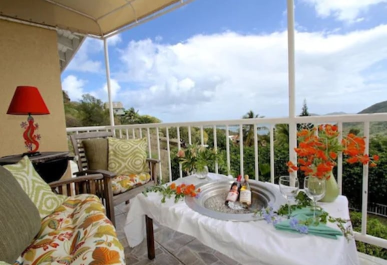 Gordian Terrace, Virgin Gorda, Panoramic Condo, Balkoni