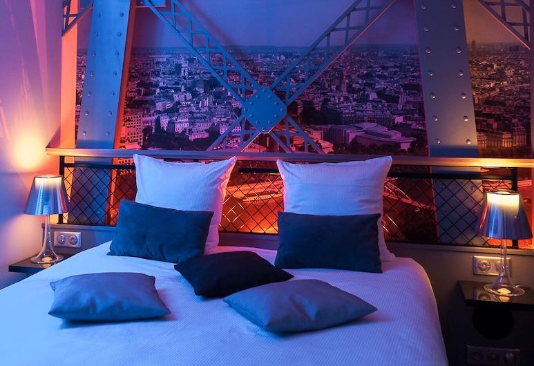 Secret de Paris - Hotel & Spa, París, Herbergi með tvíbreiðu rúmi (Eiffel Tower with Shower ), Útsýni úr herbergi
