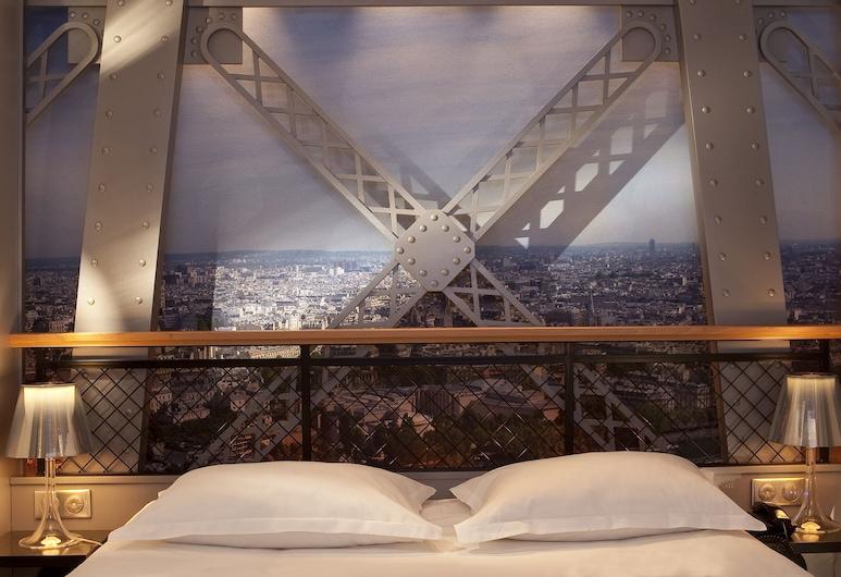 Hotel Design Secret de Paris, Παρίσι, Δίκλινο Δωμάτιο (Double) (Eiffel Tower with Shower ), Δωμάτιο επισκεπτών