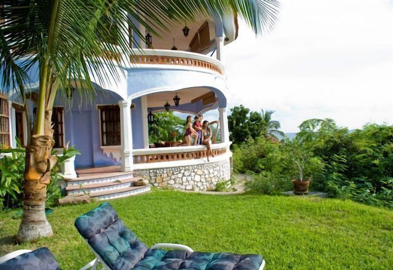 Bungalows Santa Cruz, Puerto Escondido, บริเวณโรงแรม