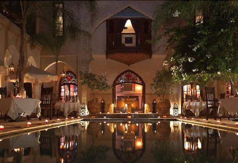 Demeures d'orient Riad Deluxe & Spa, Marrakech, Basen odkryty