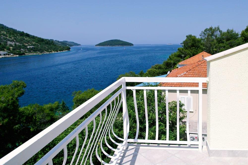 豪華雙人房, 陽台, 海景 - 陽台景觀