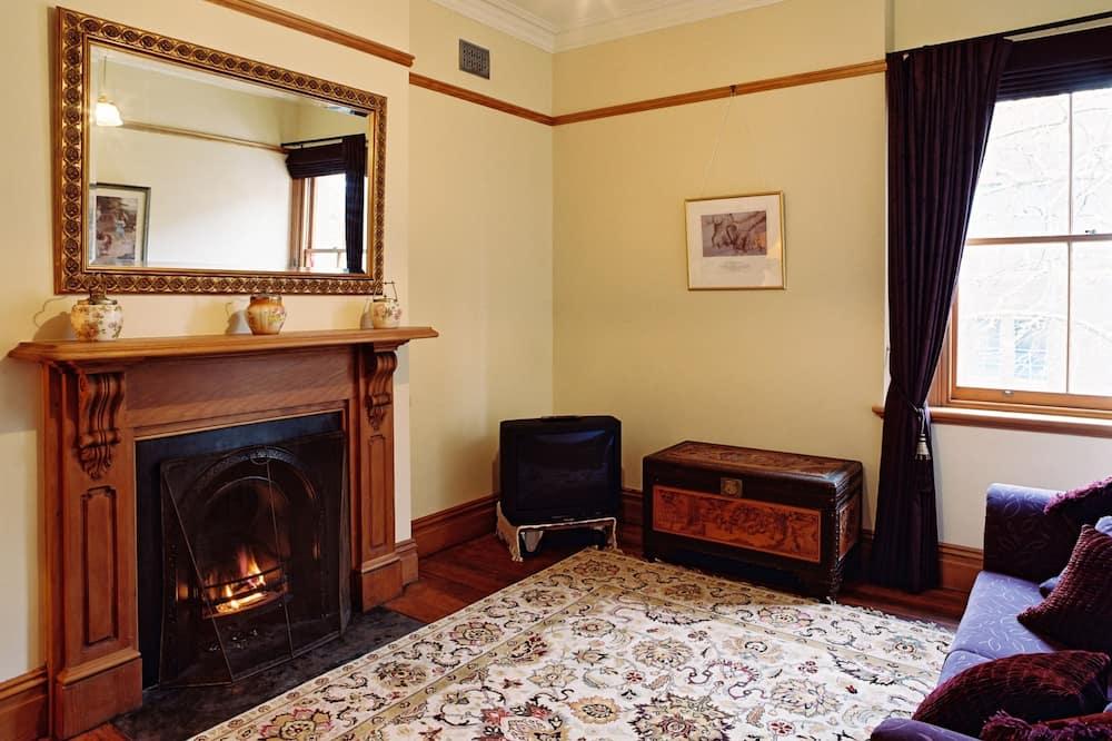 Deluxe-Suite, 1 Queen-Bett, eigenes Bad (Batten) - Wohnbereich