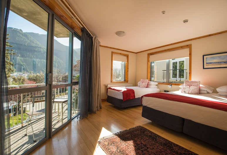 Coronation Lodge, Queenstown, Deluxe Twin Room, Guest Room