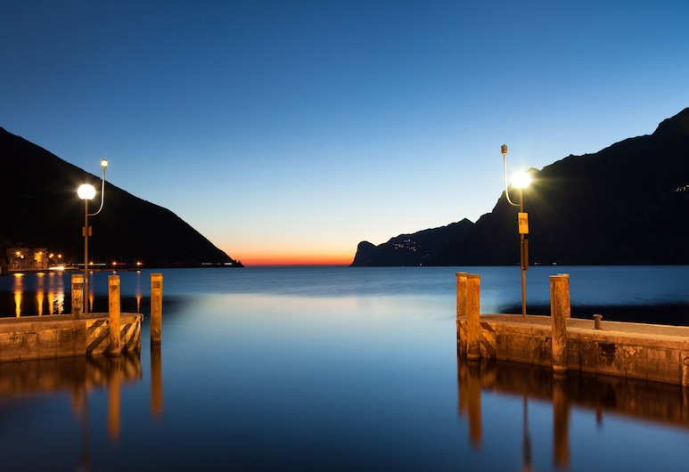 Hotel Lago di Garda, Nago-Torbole, Blick vom Hotel