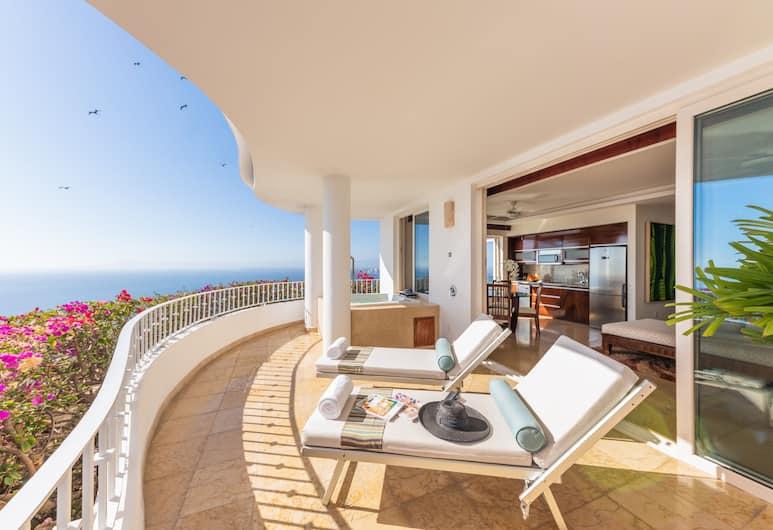 Grand Miramar All Luxury Suites & Residences , Puerto Vallarta, Master Suite Full Bay View con Jacuzzi, Balkon