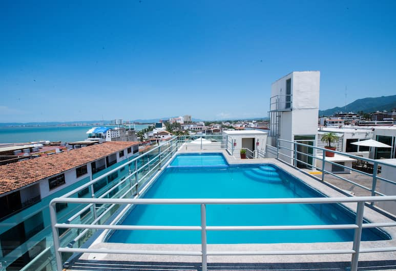 Hotel Portonovo Plaza Malecón, Puerto Vallarta, Rooftop Pool
