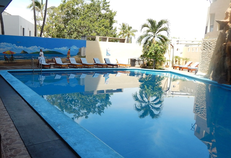 Hotel Playa Bonita, Mazatlan, Solterrasse