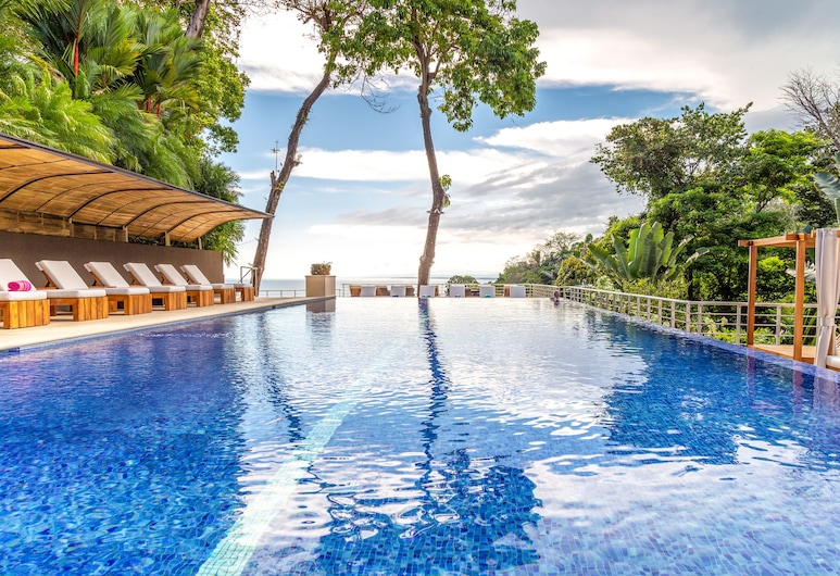 Los Altos Resort, Manuel Antonio, Alberca infinita