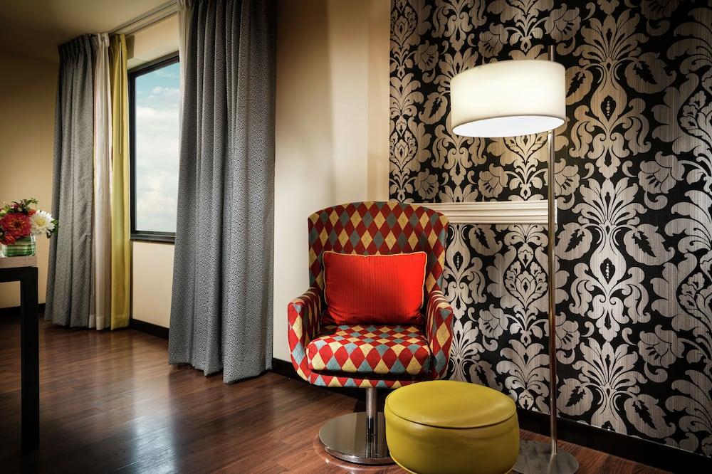 Izba, 2 veľké dvojlôžka, výhľad (Duet) - Obývacie priestory