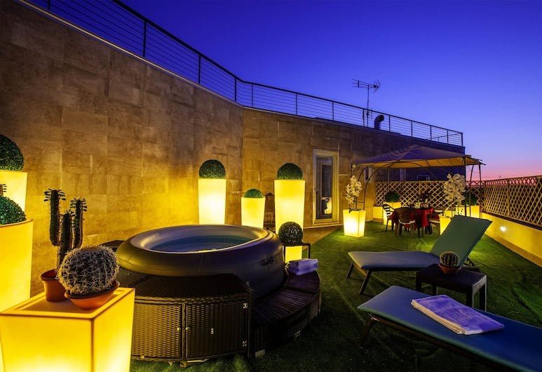 Palatium Hotel, Rom, Luxury Suite, Bilik Tamu
